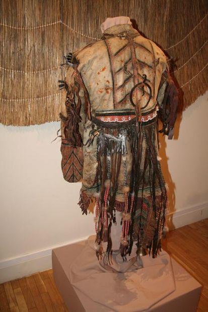 Своими руками костюм-шаман 7